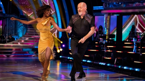 Bill Bailey (right) on Strictly
