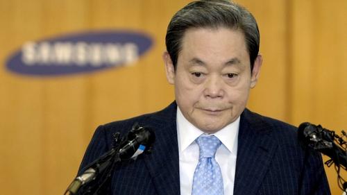 Samsung chairman Lee Kun-hee died aged 78