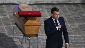 Emmanuel Macron said Samuel Paty was killed 'because Islamists want our future'