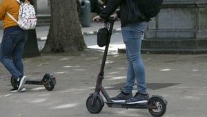 Electric scooters have become a popular sight in Irish towns and cities in recent years
