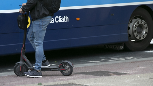 Call for regulation of electric scooters on public roads