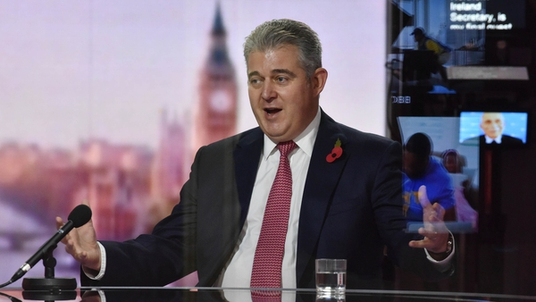Brandon Lewis said the UK wants to have a good relationship with the EU