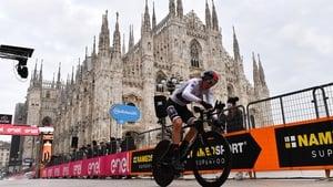 Tao Geoghegan Hart sealed victory in Milan