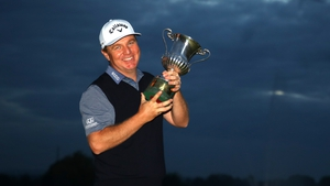 Ross McGowan enjoying his first victory in 11 years