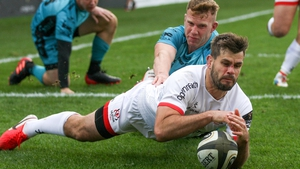 Louis Ludik crossed for two tries in seven first-half minutes