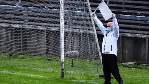 Umpires may need to be assessed for repetitive strain injury after the festival of flag-waving last weekend