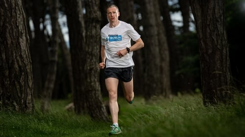 Seán Hehir was the fastest of over 13,000 runners who took on the Dublin marathon on their own this year