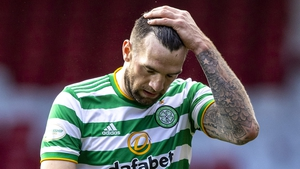 Shane Duffy after the draw with Aberdeen