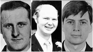 Seargant Sean Quinn, PC Paul Hamilton, and PC Allan McCloy were killed in the bomb blast 38 years ago