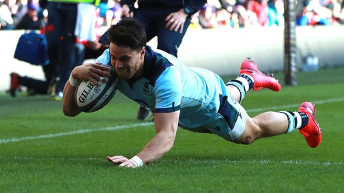 Sean Maitland was among the Barbarians players who left their team hotel without the permission of theorganiserslast week