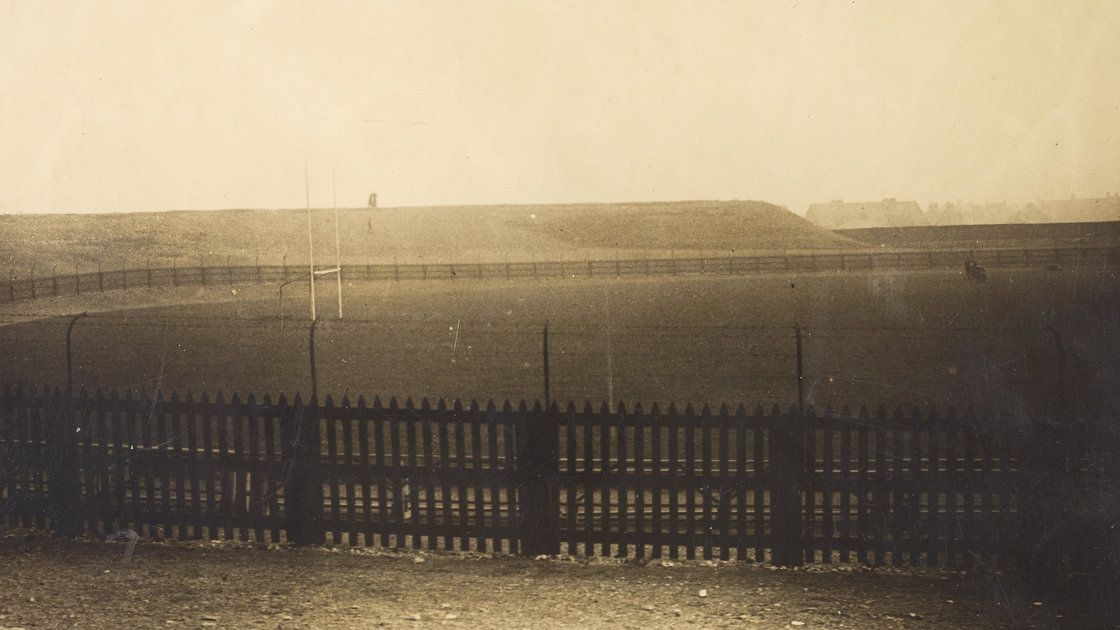 Image - Croke Park the day after Bloody Sunday (Image courtesy of the National Library of Ireland)