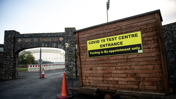 Fraher Field in Dungarvan has been used as a test centre during the pandemic