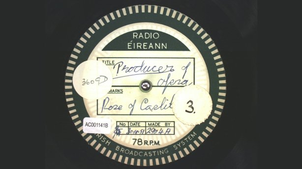 Wexford Festival Opera: 1951 - Acetate Disc Collection