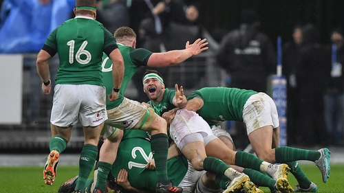 Ireland claimed a late late win in Paris two years ago