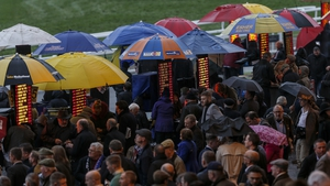 Thronged betting rings are an increasingly rare sight at racecourses