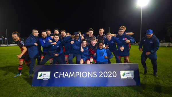 Drogheda United secured the 2020 First Division title tonight