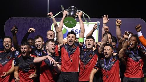 Drogheda United emerged as champions