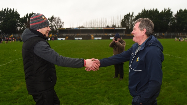 James Horan and Terry Hyland will come face-to-face again in this weekend's Connacht quarter-final