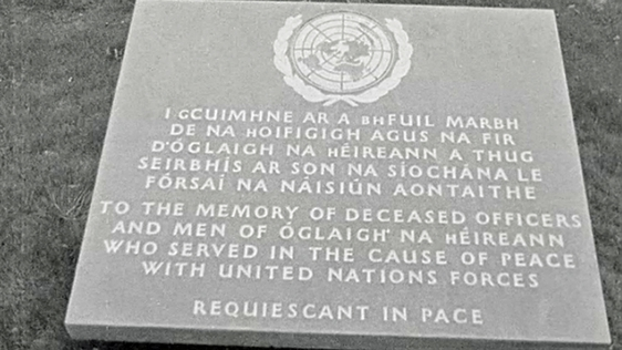 United Nations Memorial at Glasnevin Cemetery