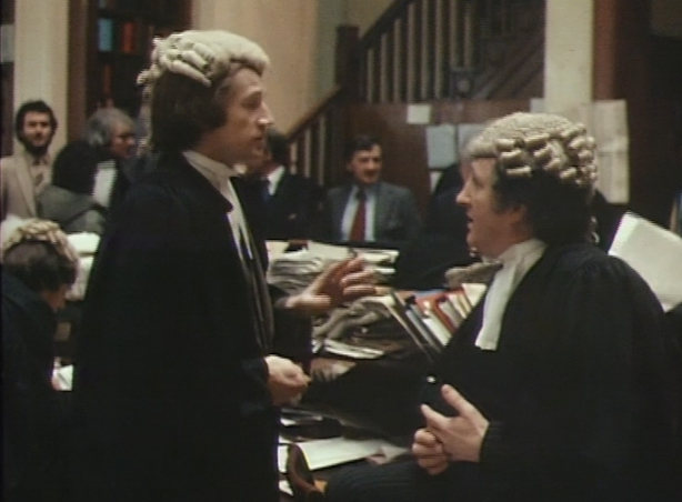 Barristers in the Law Library at the Four Courts (1980)