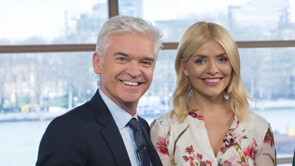 "Phillip Schofield: ""When they're writing 'Phillip and Holly and feud' we couldn't have been closer because I'd told her my secret and she was holding me together at work."""