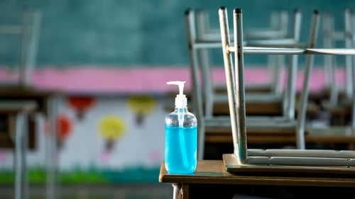 More than 50 sanitising products have been recalled from schools
