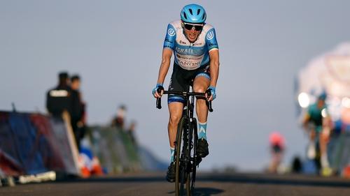Dan Martin came in 19 seconds behind stage winner Primoz Roglic