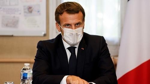 President Emmanuel Macron made a televised address tonight