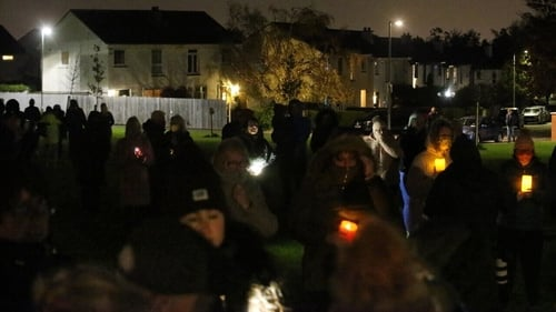 Residents of Llewellyn Court in Rathfarnham expressed their grief and shock at the tragedy (Credit RollingNews.ie)