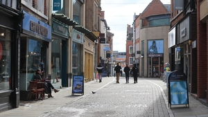 A view of Nottingham city centre which will enterTier 3 restrictions from midnight tomorrow