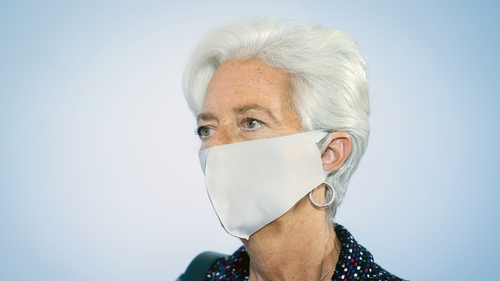 ECB chief Christine Lagarde says uncertainty remains about the Covid-19 vaccine