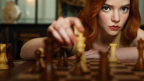 Anna Taylor-Joy in The Queen's Gambit
