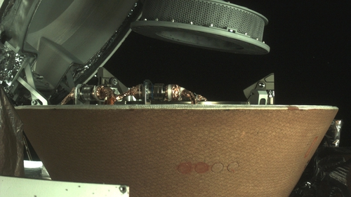The samples have been sealed inside the capsule (Pic: NASA)