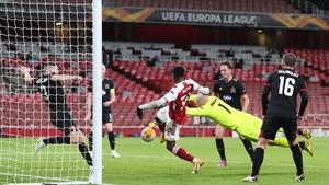 Eddie Nketiah breaks the deadlock