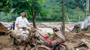 Massive mudslides were triggered by heavy rains