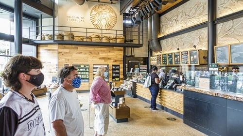 Starbucks is seeing a recovery in demand following the initial hit from the Covid-19 pandemic