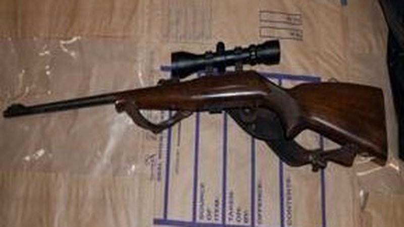 One of           the four firearms seized in Finglas