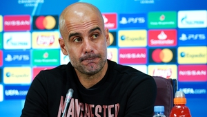 Pep Guardiola brushed off suggestions he could return to Barcelona