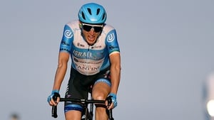 Dan Martin held on to his top-three placing in the general classification
