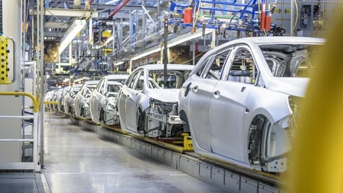 IHS Markit's final manufacturing Purchasing Managers' Index for the euro zone fell to 53.8 in November from October's 54.8