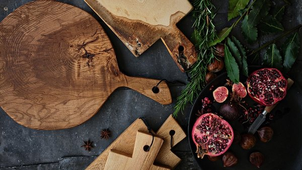 Chopping Boards - Two Wooden Horses