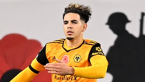 Rayan Ait-Nouri scored his first goal on his debut for Wolves