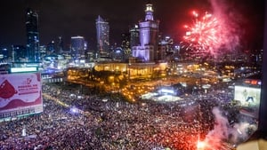 Organisers and the city of Warsaw said some 100,000 people took part, one of the largest protest gatherings in years