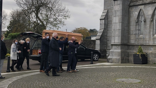 The funeral mass was held atthe Church of the Immaculate Conception in Kanturk