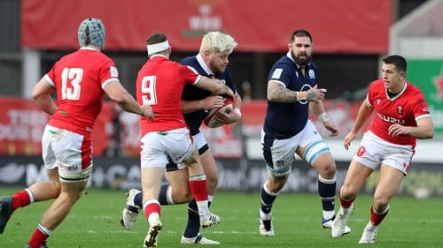 Scotland moved on to 14 points