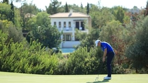 Jamie Donaldson leads by a stroke heading into the final round at Aphrodite Hills