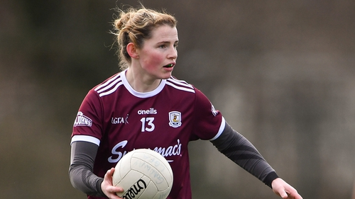 Lucy Hannon netted a crucial goal for Galway