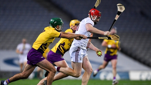 Joe Canning bagged nine points for the winners