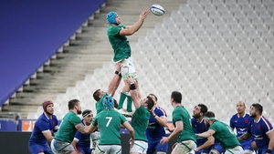 The Irish line-out failed to fire in Paris.