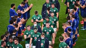 Ireland conceded four tries in Paris